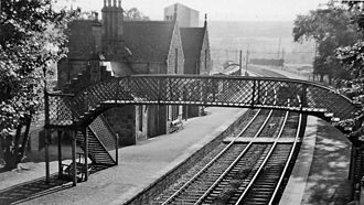 Beauly railway station - Beauly station in 1961