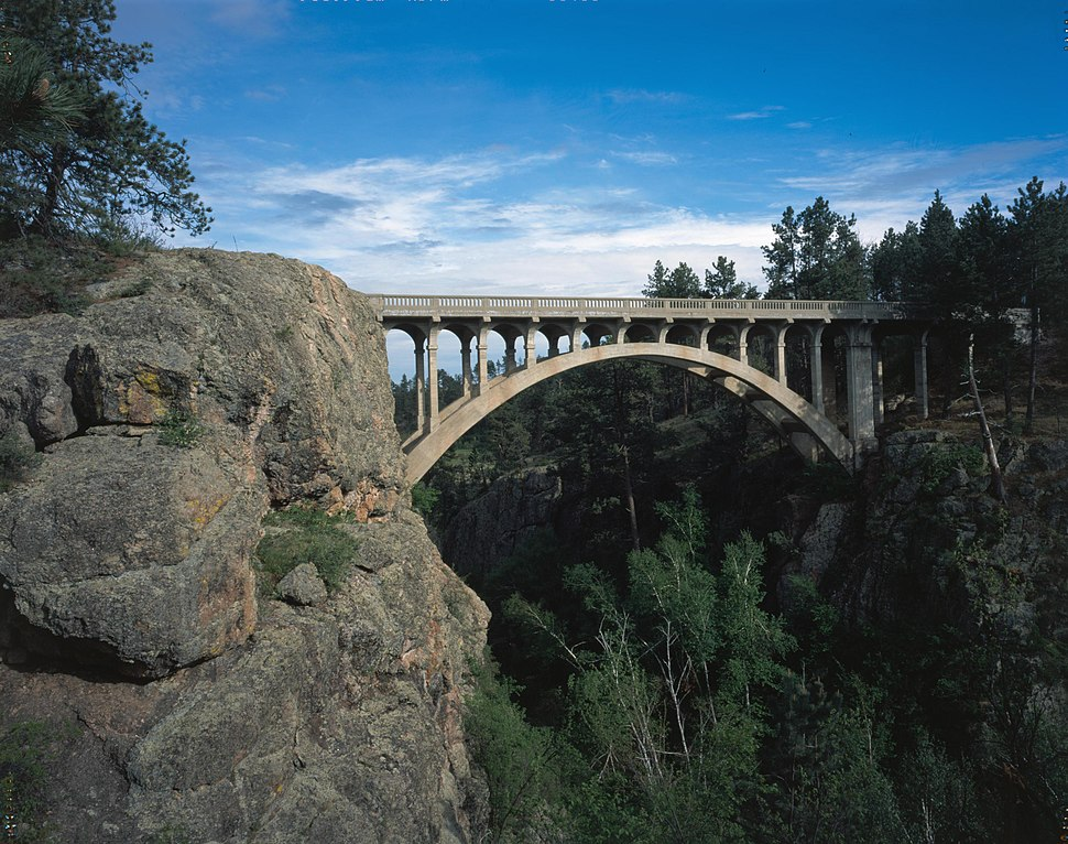 Beaver Creek Bridge in Wind Cave National Park