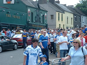 Ballintemple, Cork - Crowds in Ballintemple before a sporting event