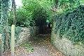 Beginning of the sunken path at Somerhill - geograph.org.uk - 1354713.jpg