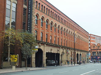 History of the Jews in Manchester - The Behrens Warehouse, Portland Street, Manchester