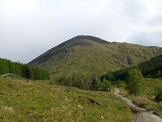 Beinn Odhar mountain in United Kingdom