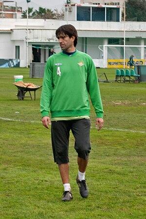 David Belenguer - Belenguer training with Betis in 2010