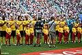 Belgium 2-0 England, BEL line-up.jpg
