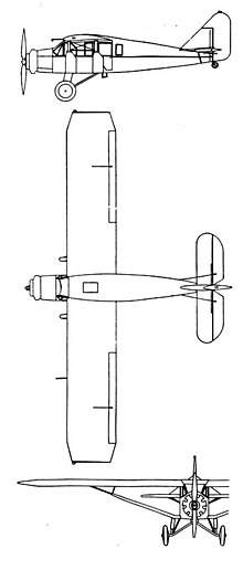 Bellanca ch 300 pacemaker wikivisually bellanca ch 300 pacemaker 3 view drawing from laerophile october 1932 fandeluxe Gallery