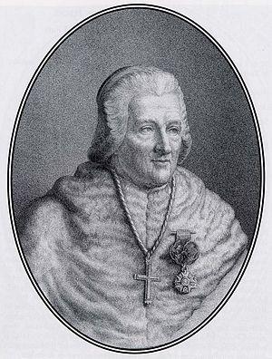 Jean-Baptiste de Belloy - Archbishop de Belloy at a younger age
