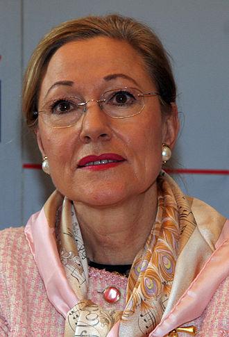 Benita Ferrero-Waldner - Image: Benita Ferrero Waldner