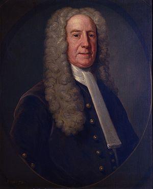 Benjamin Lynde Sr. - Portrait by John Smibert, c. 1731