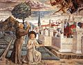 Benozzo Gozzoli - Scenes from the Life of St Francis (Scene 6, north wall) - WGA10236.jpg