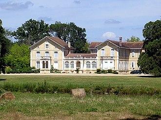 Château de Laurens Castelet - Image: Benquet château