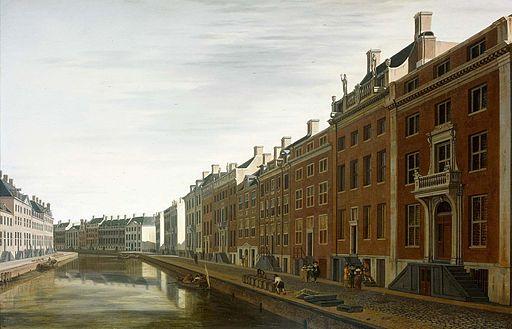 Berckheyde - De bocht van de Herengracht