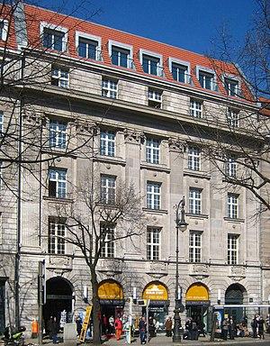 Eurohypo - Building of the former Preußische Central-Bodenkredit-AG, Unter den Linden 26, in Berlin-Mitte