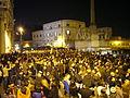 Berlusconi adieu - tutti in attesa sotto il Quirinale il 12-11-2011 1220366.JPG