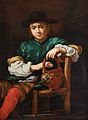 Bernhard Keil - Sitting boy with a pot.jpg