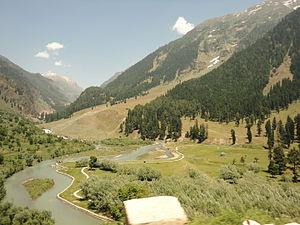 Betaab Valley - Betaab Valley-Aerial View