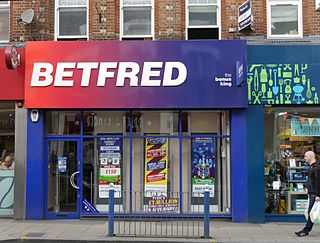 Betfred bookmaker based in the United Kingdom