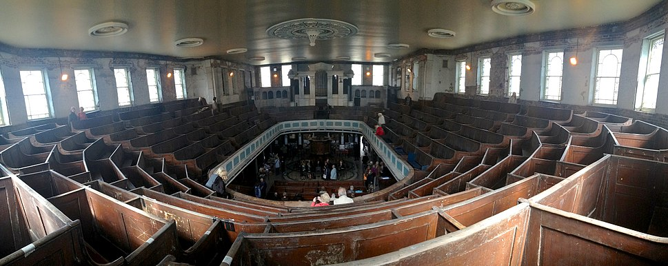 Bethesda, Stoke-on-Trent 12, Interior overview from Balcony