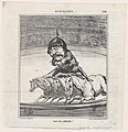 Beware of the fall!, from 'News of the day,' published in Le Charivari, September 24, 1868 MET DP877741.jpg