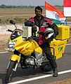 Bharadwaj Dayala, the world rider.jpg