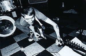 Billy Childish - Childish at the Shinjuku loft, Japan (early 1990s)