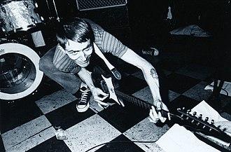 Billy Childish - Childish at the Shinjuku loft, Japan (early 1990s)