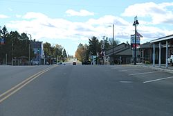 Downtown Birchwood on WIS48