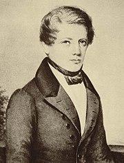 Bismarck, in 1836.
