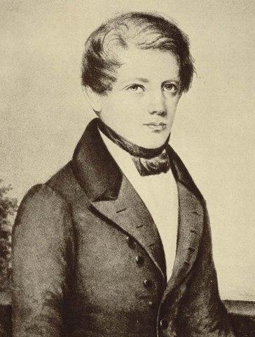Бисмарк в 1836 году