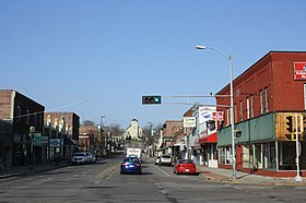 Black River Falls Wisconsin Downtown2 WIS54.jpg