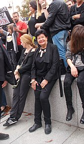 Black protest of initiative Save the Women 2016 10 01 in Warsaw 19.jpg