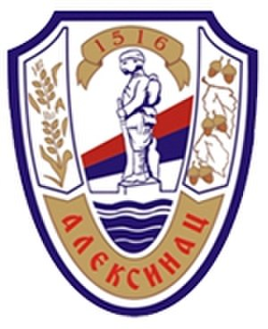Municipalities and cities of Serbia - Image: Blason Aleksinac