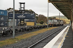 Blayney, New South Wales - Container Terminal at Blayney station