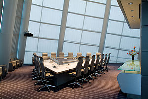 Virginia Beach Convention Center Boardroom