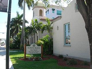 Boca Raton Old City Hall United States historic place