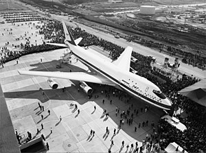 Boeing 747 - The prototype 747 was first displayed to the public on September 30, 1968