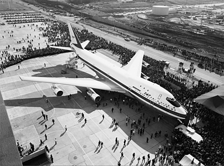 The prototype 747 was first displayed to the public on Sept. 30, 1968. Photo credit: Wikimedia Commons [Licensed under Public Domain]