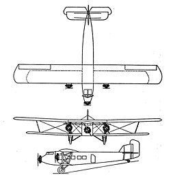Boeing Model 80 3-view Aero Digest September 1928.jpg