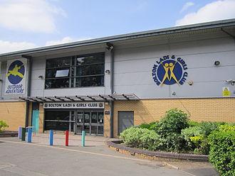 Bolton Lads and Girls Club - Image: Bolton Lads & Girls Club