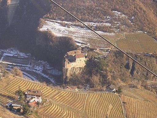 Bolzano-Bozen Roncolo Castle aerial view 20060111