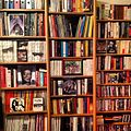 Bookshelves in my new office Picture by Laura Homsi January 2013.jpg