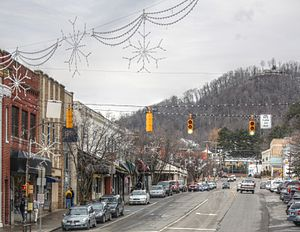 Boone, North Carolina - West King Street