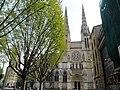 Bordeaux (33) Cathédrale Saint-André Transept nord Façade 04.jpg