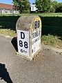 Borne Kilométrique 6 D88 Route Tremblay Villepinte Seine St Denis 12.jpg