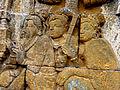Borobudur - Lalitavistara - 008 E, King Suddhadana and Queen Maya (detail 4) (11247967005).jpg