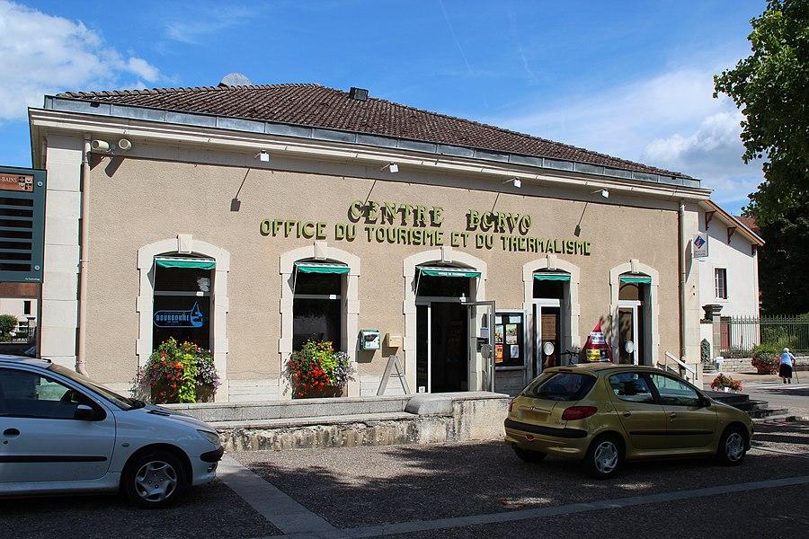 View of  Bourbonne-les-Bains, France.