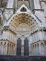 Bourges - cathédrale Saint-Étienne, façade ouest (08).jpg