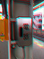 Box on train platform with kanji - Tokyo area - nov 14 2015 - anaglyph.jpg