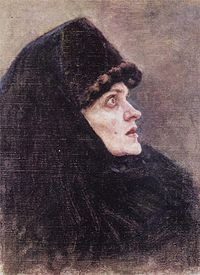 Boyaryna Morozova by V.Surikov - sketch 01 (Tretyakov gallery).jpg