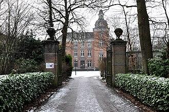 Gentbrugge - Image: Braemkasteel Gentbrugge 12 01 2010 14 42 35