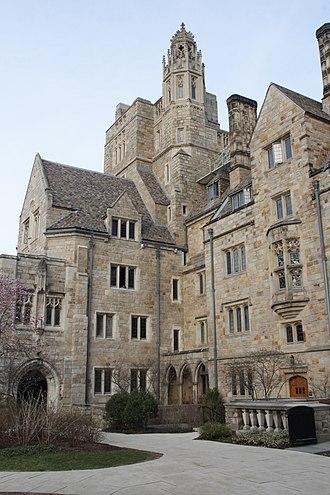 Branford College - East end of Branford Court